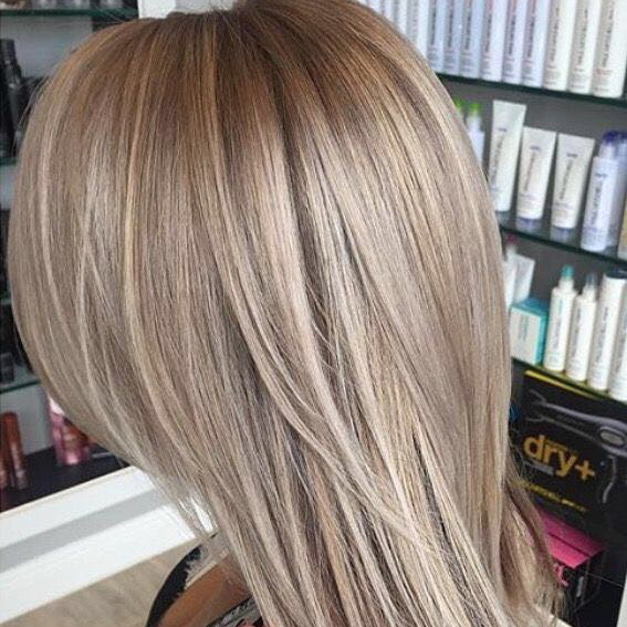 Extra blond in de zomer