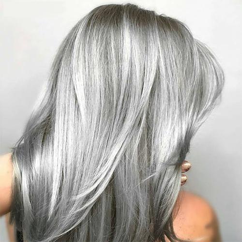 Wonderbaar Haar laten uitgroeien naar je natuurlijke (grijze) haar? - HF-81